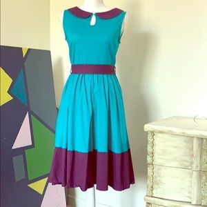 Lindy Bop retro dress size. Worn once for pictures